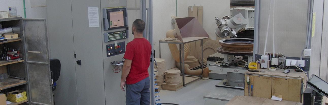 Lavorazione CNC - Fresatura cnc - Lavorazioni cnc del legno